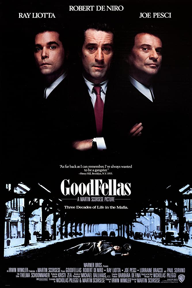 Goodfellas, the best Italian-American movies - The Proud Italian