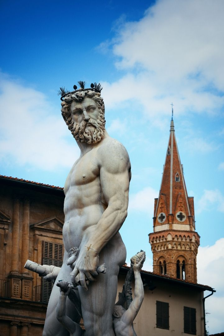 Fountain of Neptune - The Proud Italian