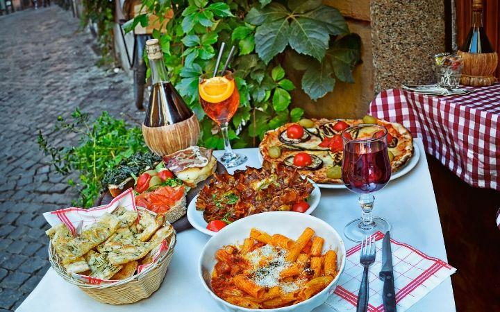 italian food the proud italian