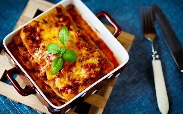 Italian food quotes and lasagna- The Proud Italian