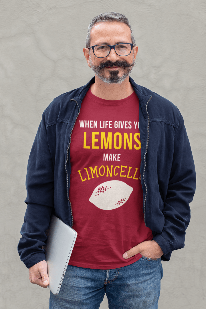 when life gives you lemons make limoncello, The proud Italian