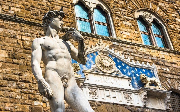 Michelangelo's David, Florence - The Proud Italian