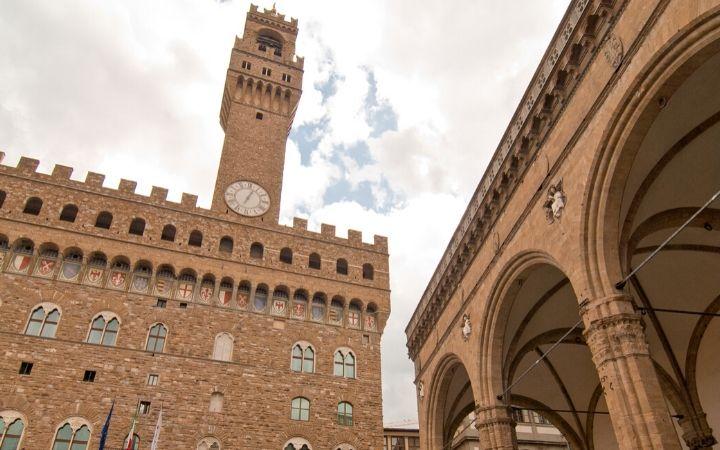 Piazza della Signoria, Florence - The Proud Italian