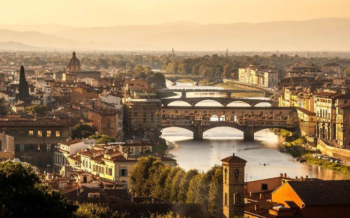 Florence, Ponte Vecchio - The Proud Italian