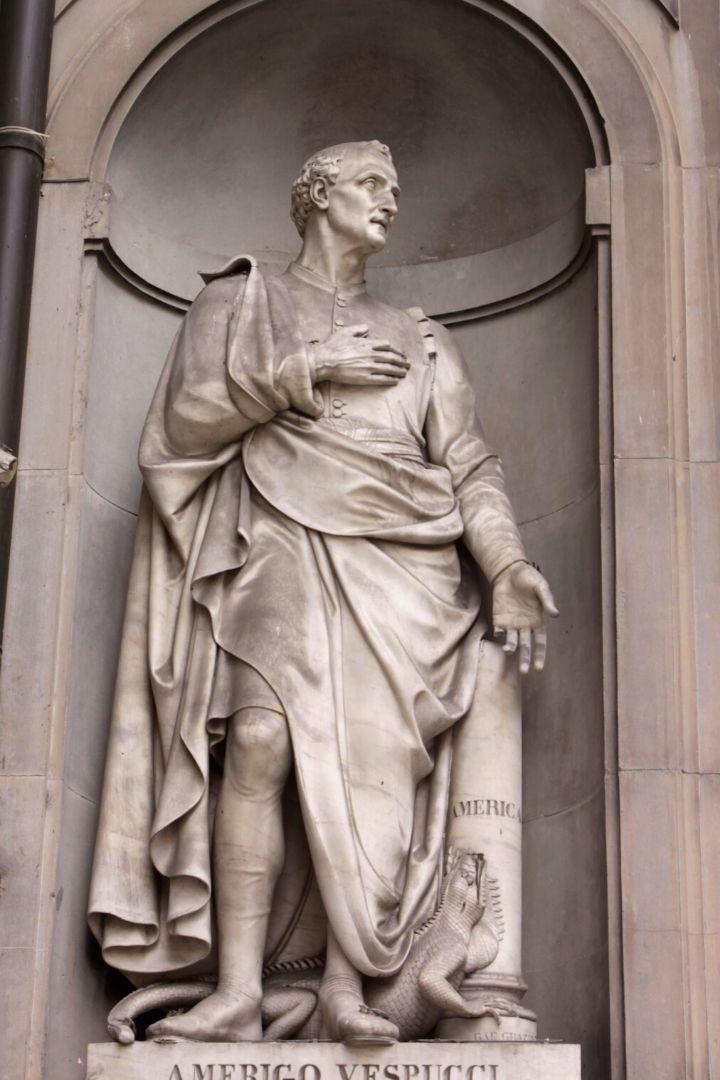 Famous Italian explorers, Amerigo Vespucci - The Proud Italian