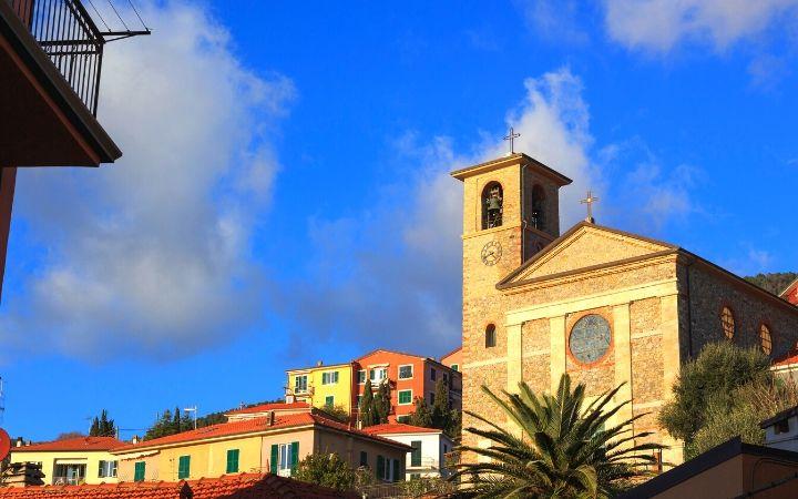 Tellaro Village, church - The Proud Italian