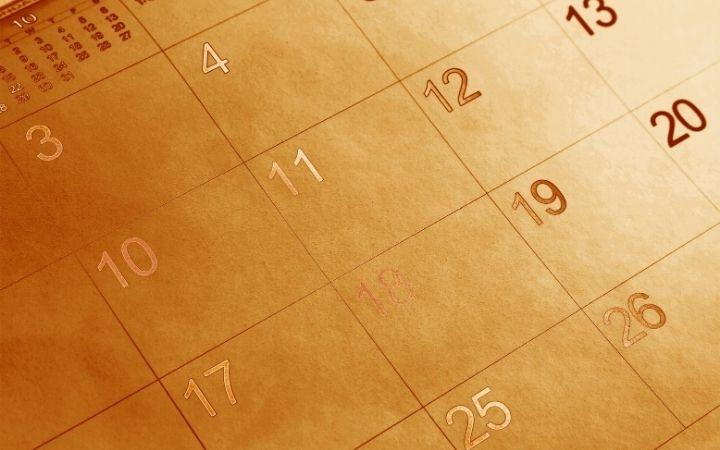 Calendar with information of Catholic Saints to celebrate Onomastico - The Proud Italian