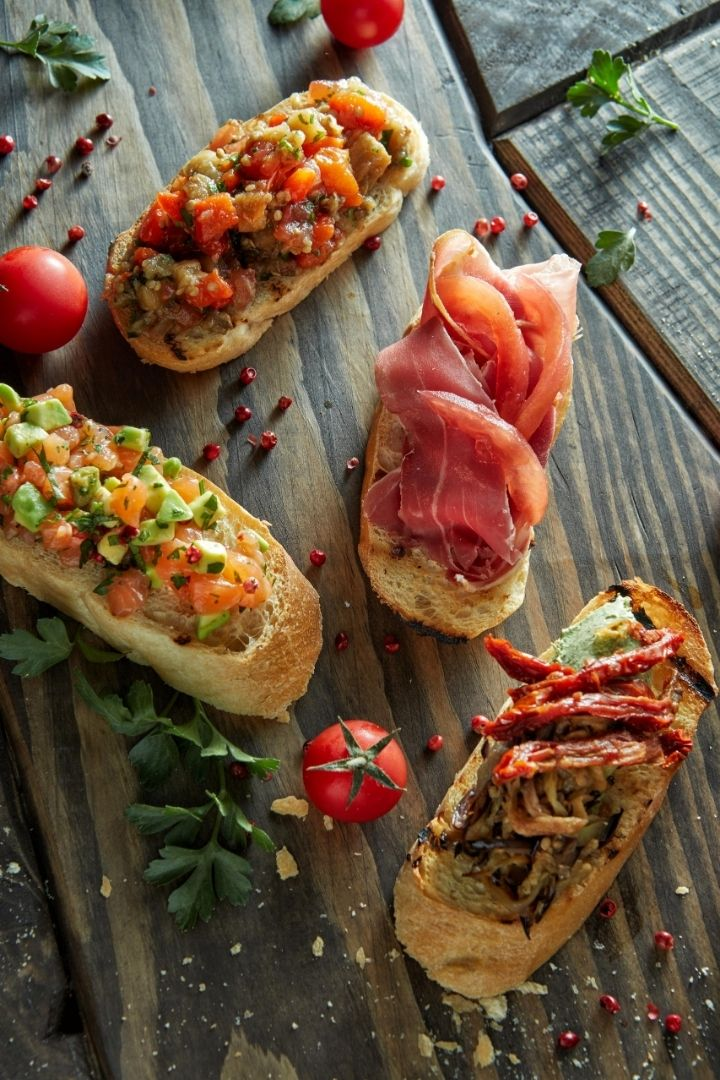 Crostini, Italian antipasti - The Proud Italian