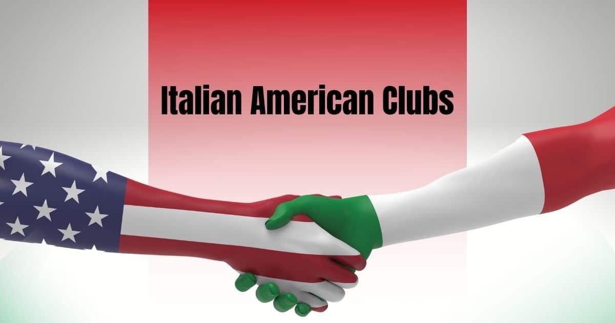 Italian American Clubs