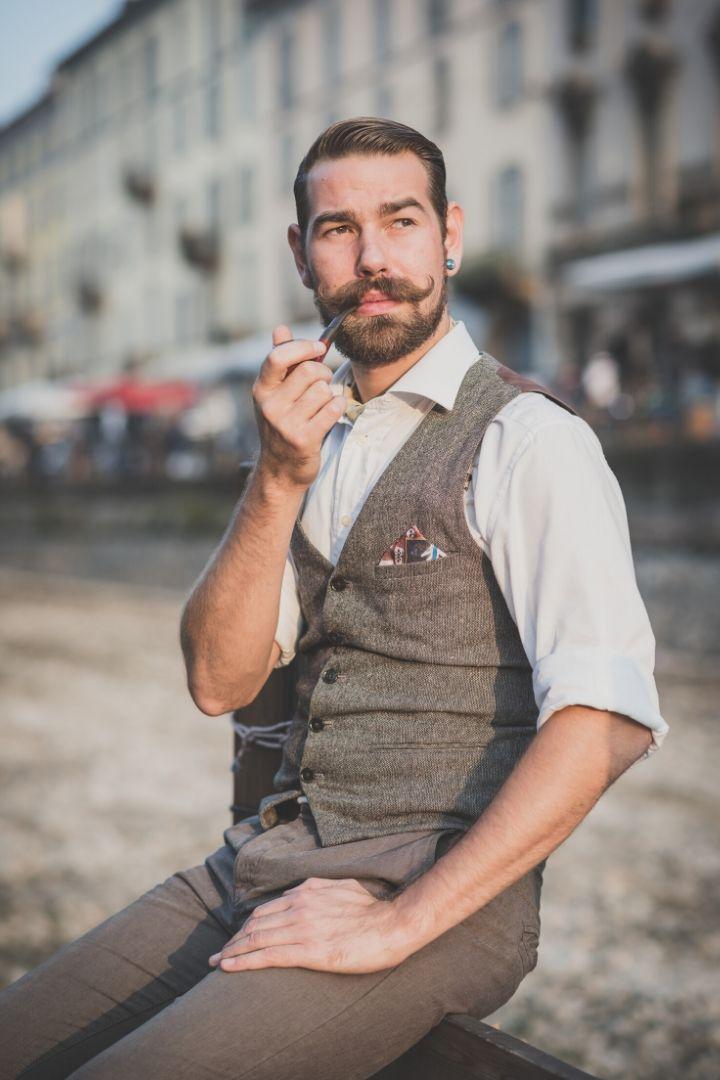 Italian mustache - The Proud Italian