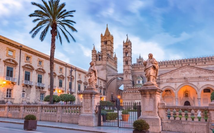 Palermo Cathedral in Sicily - The Proud Italian