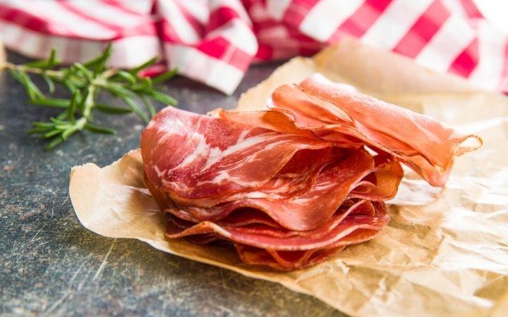 Prosciutto Crudo, Italian antipasti - The Proud Italian