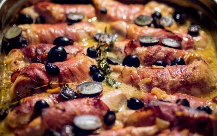 Prosciutto Crudo & Leek Involtini, Italian appetizer recipes - The Proud Italian