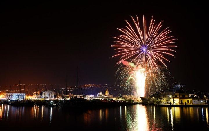 Saint Peter celebration's fireworks - The Proud Italian