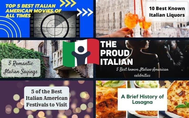 The Proud Italian, Italian American Club - The Proud Italian