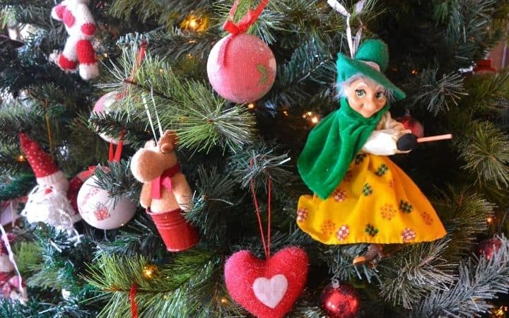 La Berfana decoration on the Christmas tree - The Proud Italian