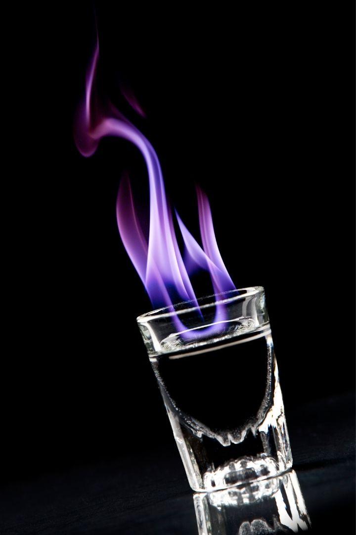 Flaming Sambuca shot, Sambuca Drink Recipes- The Proud Italian