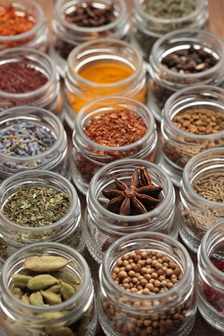 Jars with spices, How To Make Italian Seasoning - The Proud Italian