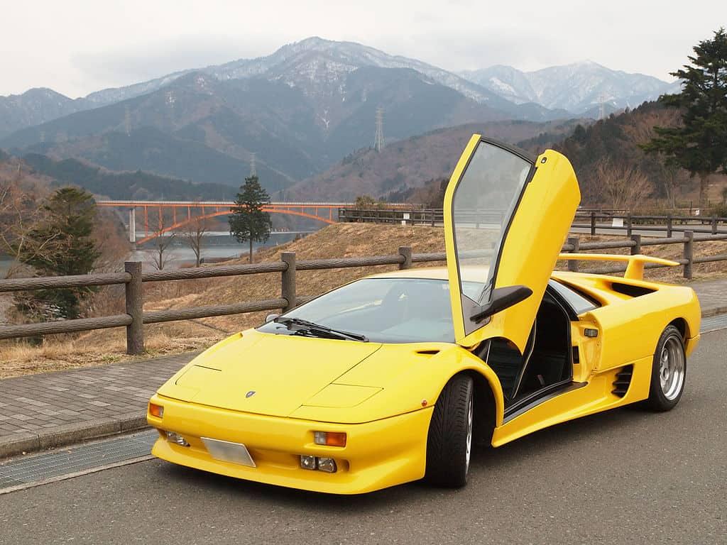 Lamborghini Diablo, The Most Beautiful Italian Sports Cars - The Proud Italian