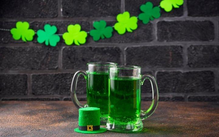 St. Patrick Day green bear, Was St. Patrick Itailan_ - The Proud Italian