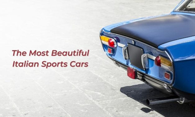 The Most Beautiful Italian Sports Cars