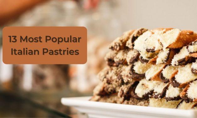10 Most Popular Italian Pastries