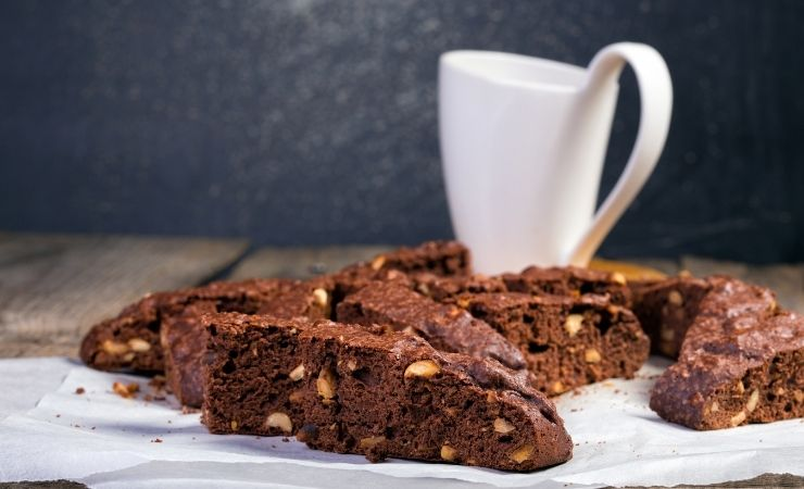 Double Chocolate Italian Biscotti, Your Favorite Easy to make Italian Desserts - The Proud Italian