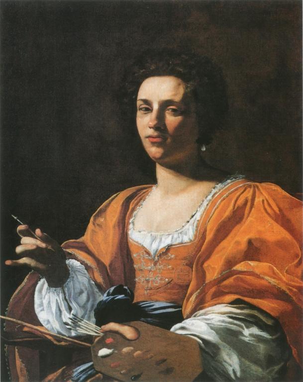 Portrait of Artemisia Gentileschi, Famous Italian Women Who Changed History - The Proud Italian