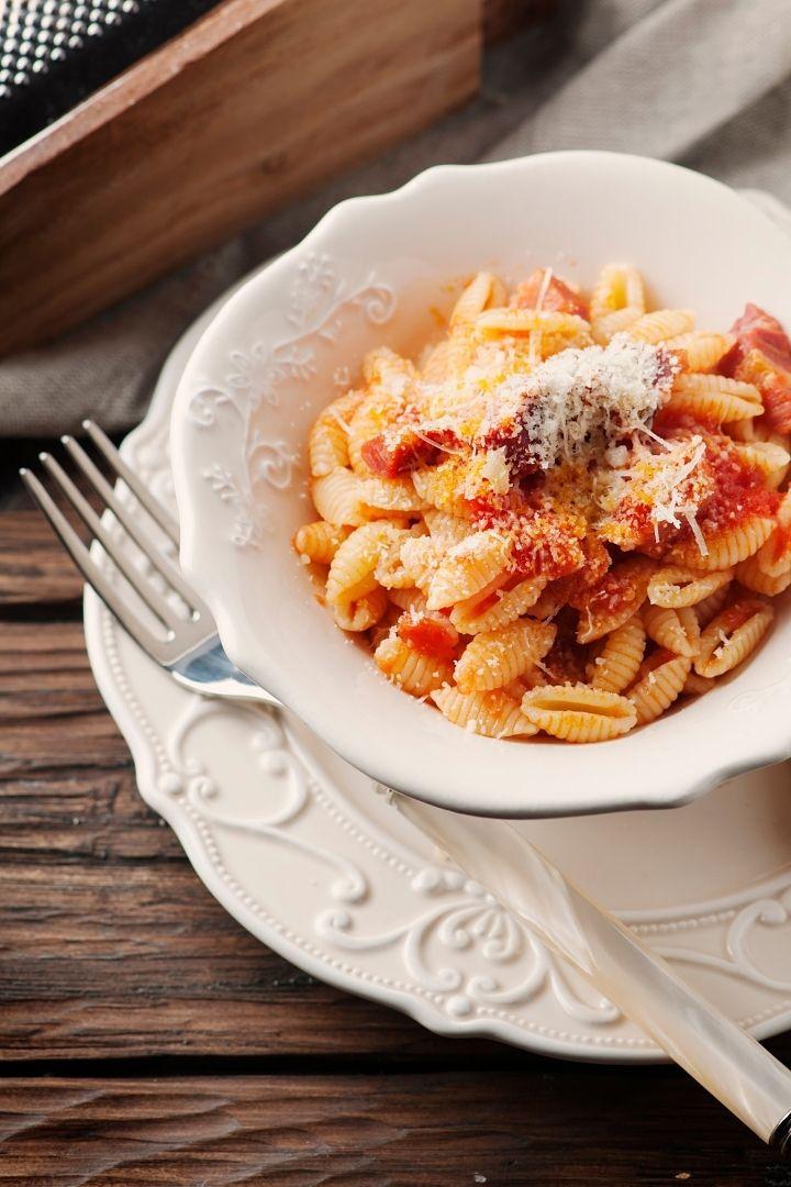 Sardinian gnocchi with lamb, Malloreddus a Typical Sardinian Food - The Proud Italian