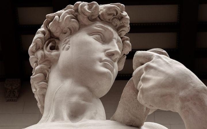 David statue of Michelangelo, Italian Art and the Renaissance - The Proud Italian