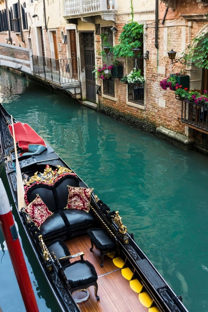 Gondola, The Gondola Driver And His Steed - The Proud Italian