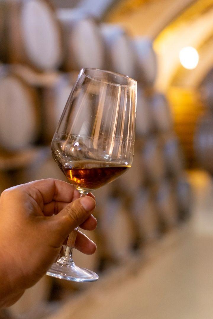Marsala wine in glass, Mi Scusi! Free Wine Fountain in Italy - The Proud Italian