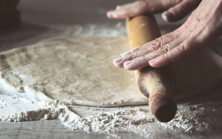 Rolling dough for calzone, Stromboli vs. Calzone - The Proud Italian
