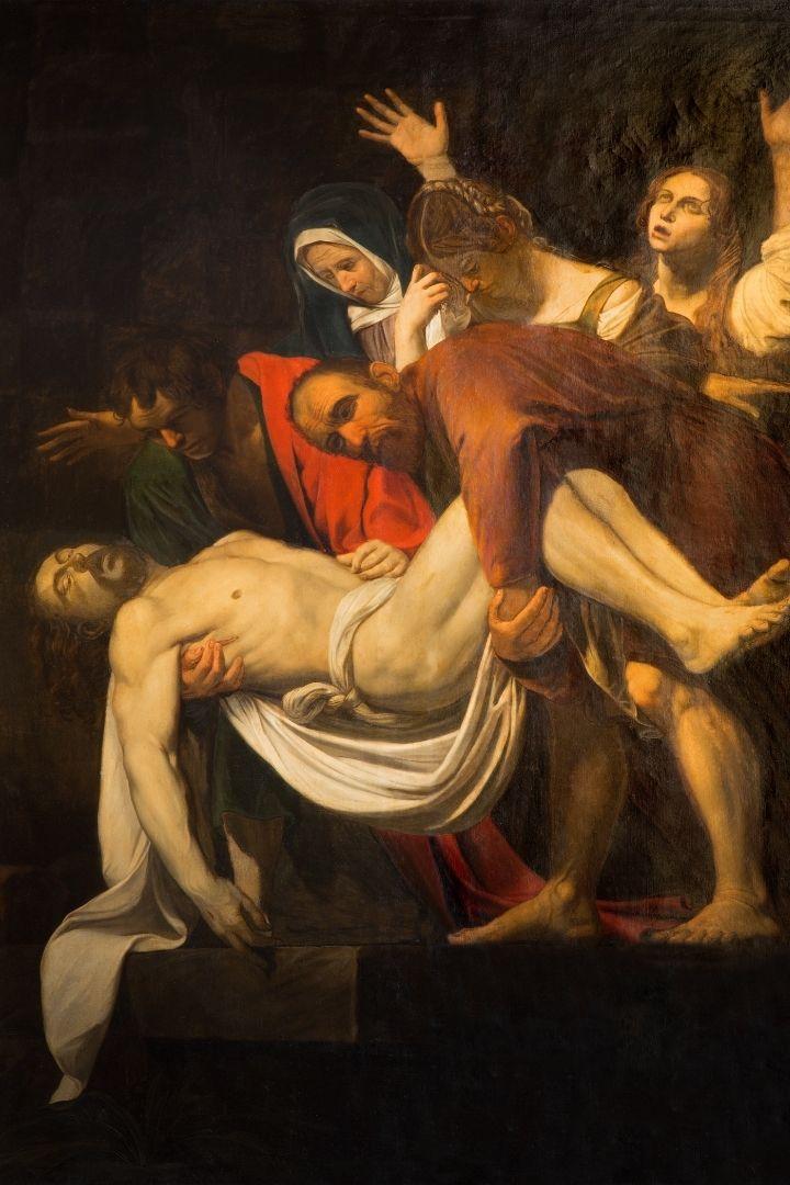 Saint Matthew by Merisi da Caravaggio, Italian Art and the Renaissance - The Proud Italian