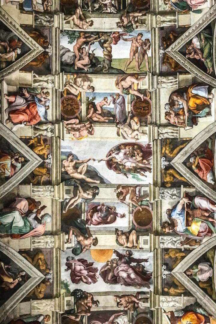 Sistine Chapel, Italian Art and the Renaissance - The Proud Italian
