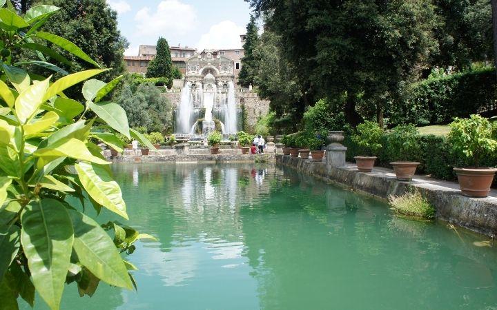 Villa d'Este Gardens at Tivoli, The Top 10 Italian Gardens to Visit on your Next Trip - The Proud Italian
