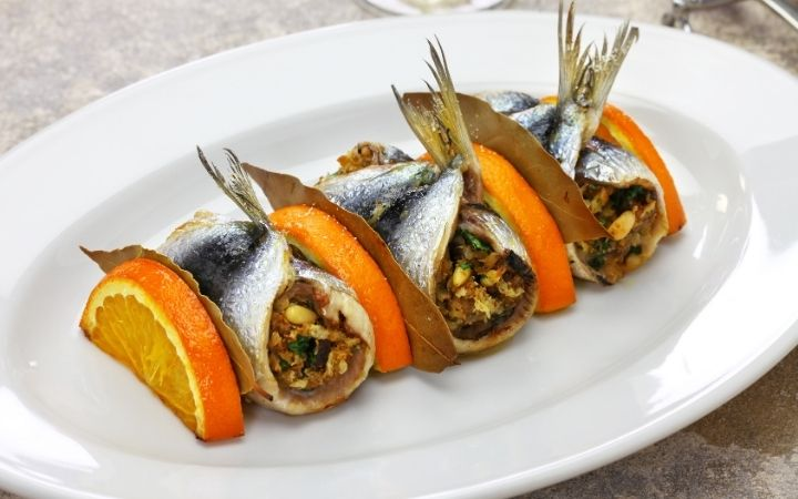 Sardine Beccafico, Top-Rated Italian Chefs - The Proud Italian
