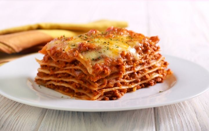 Slice of lasagna, Who Brought Pasta to Italy - The Proud Italian