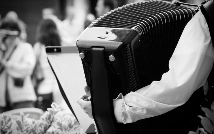 Accordion, Italian Music from the Ears to the Soul - The Proud Italian