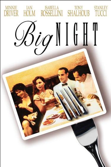 Big Night movie, The Baked Italian Pie Called Timpano - The Proud Italian