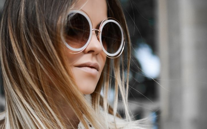 Blonde woman with over-sized sunglasses, A Girl's Guide to Italian Fashion - The Proud Italian