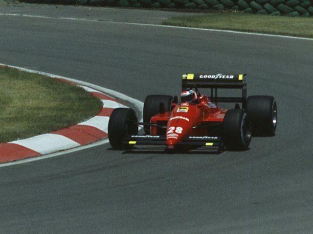 Gerhard Berger 1988, The Italian Grand Prix at a Glance - The Proud Italian