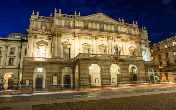 La Scala, Milano, Italian Music from the Ears to the Soul - The Proud Italian