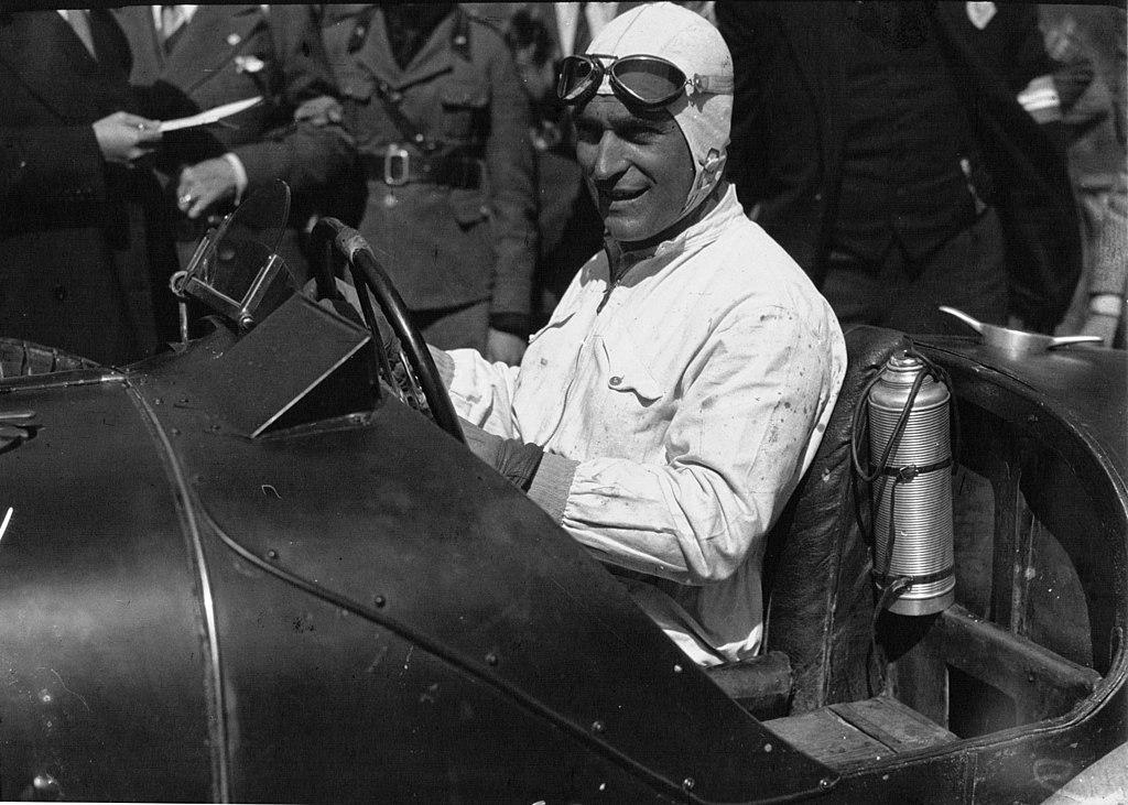 Luigi Fagioli in his Maserati at the 1932 Targa Florio, The Italian Grand Prix at a Glance - The Proud Italian