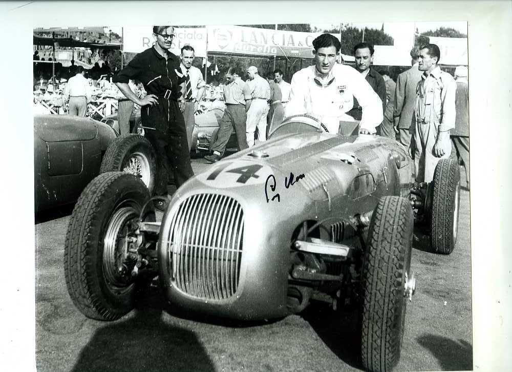 Stirling Moss with HWM-Alta in Italy in 1950, The Italian Grand Prix at a Glance - The Proud Italian