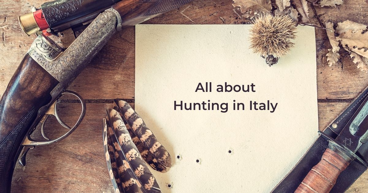 All about Hunting in Italy - The Proud Italian