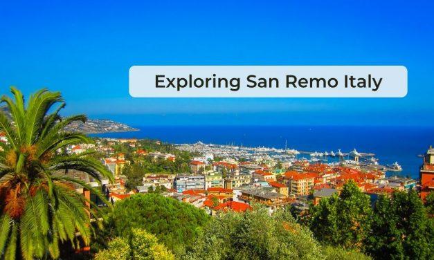 Exploring San Remo Italy
