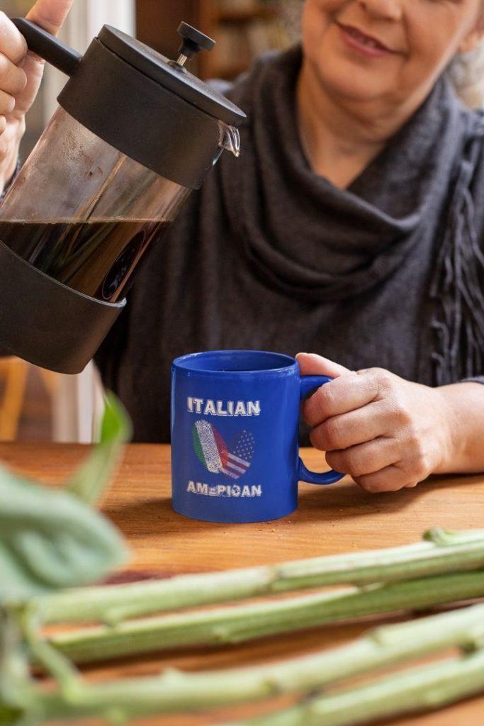 Italian American Full Color Mug - The Proud Italian