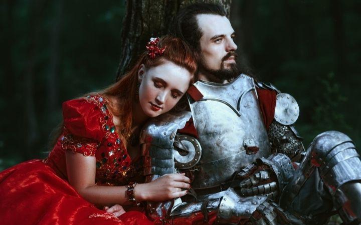 Couple for Italian Folklore - The Proud Italian