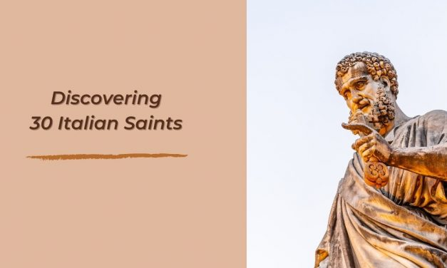 Discovering 30 Italian Saints